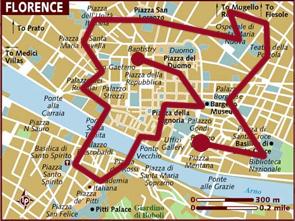 Mappa Firenze / Florence Map